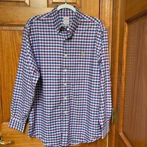 Brooks Brothers 346 Men's checkered shirt M